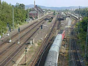 Eichenberg Bahnhof