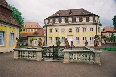 Kursaal im Kurpark von Bad Lauchstädt