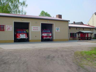 Gerätehaus nach dem Umbau 2003 mit unserer Technik