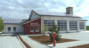 Das neue Feuerwehrhaus
