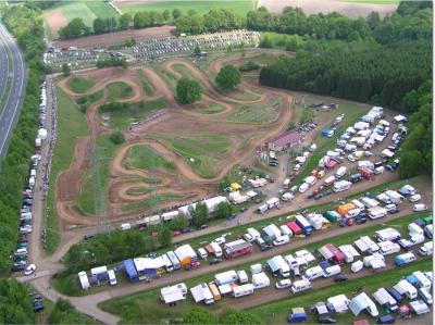 Luftaufnahme Sportgelände MSC-Aufenau