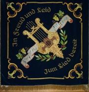 Vereinsfahne von 1961