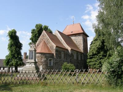 Kirche im Ortsteil Rosenthal