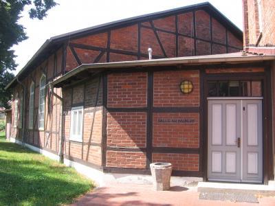 Eingang Mehrzweckhalle
