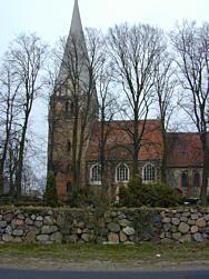 Kirche in Wusterhusen