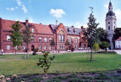 Rathaus Genthin, erbaut 1898/1899