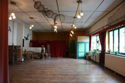 Saal der Gaststätte