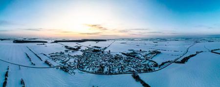 Allmenhausen Winter 2021 (Foto: Christian Hahn)