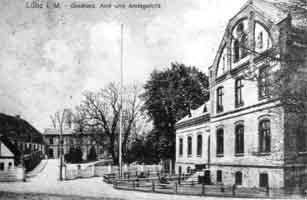 Großherzogliches Amt mit Amtsgericht um 1905, Quelle: Amt