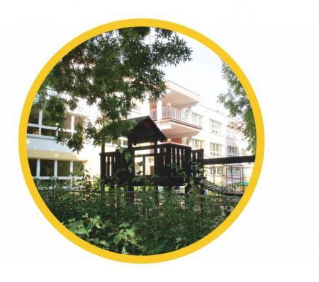 Gartenansicht Kita Warnitzer Straße