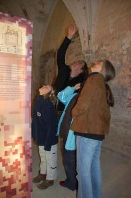 Ausstellung und Kloster - beide sind zu entdecken