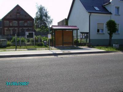 Bushaltestelle in der Brandenburger Straße von Bamme