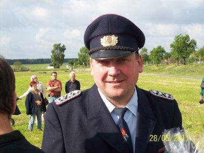 Ortswehrführer BM Diethard Schulze
