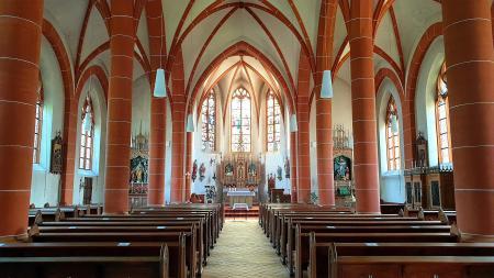 St. Quirinuskirche Bengel Innenansicht ©SonjaMüller