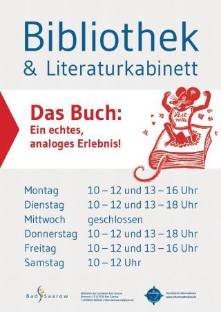 Bibliothek & Literaturkabinett