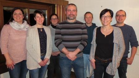 Manuela Freymann, Sabrina Siekemeyer, Sabrina Fischer-Reutzel, Alexander Schäfer, Andrea Hilß, Silke Büchse, Guido Veith (es fehlt Andreas Kehm).