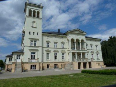Blick auf das Schloss Kunrau