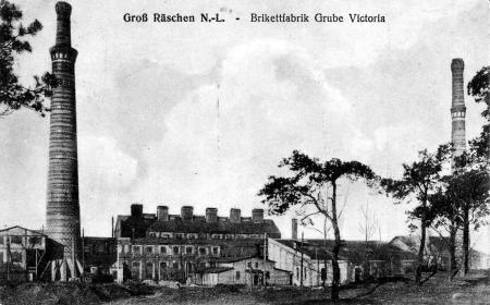 Brikettfabrik Victoria - Namenspatin der Victoriahöhe und der Victoriastraße