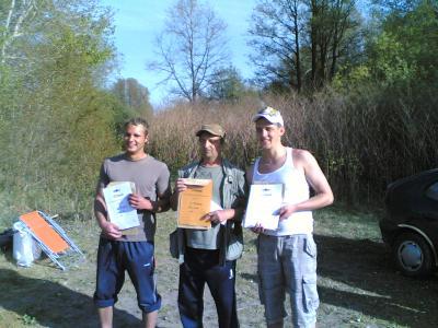 Die Sieger 1.Hegefischen 2009