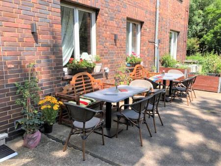 Café Auszeit Terrasse