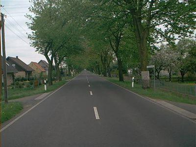 Chausseestraße in Hathenow