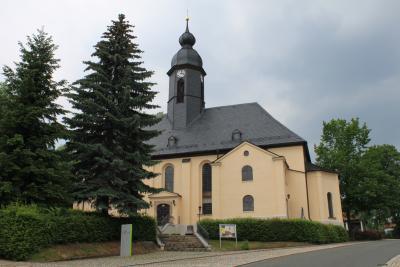 Die Christuskirche in Oelsnitz