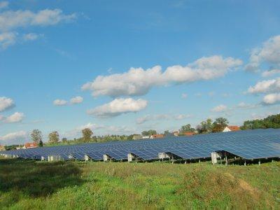 Solaranlage bei Wilhelmshof