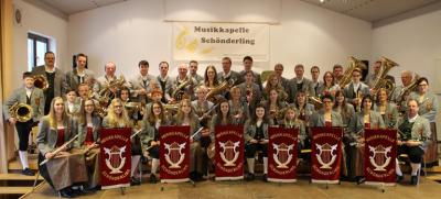 Musikkapelle Schönderling 2013