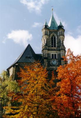 Außenansicht Katharinenkirche Buchholz