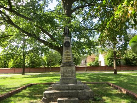 Denkmal      Foto: Info Punkt Lebus