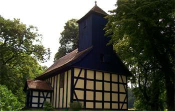 Kirchlein im Grünen Alt Placht