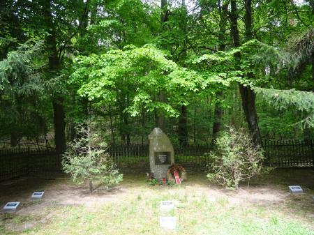 Deutsche Kriegsgräberstätte Petershagen am See Foto: Info Punkt Lebus