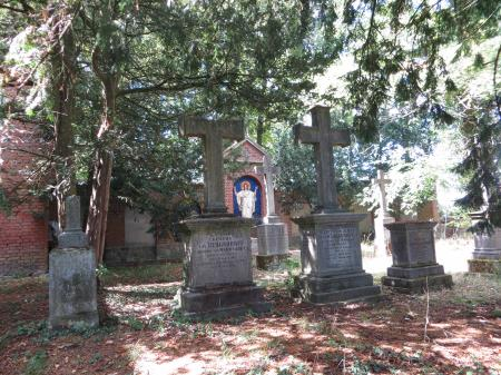 die Grabanlage der Familie von Burgsdorff  Foto: Info Punkt Lebus