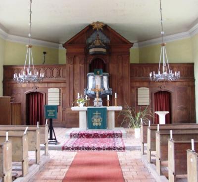 Innenansicht Kirche Reckahn
