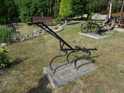 Historische Landwirtschaftsgeräte