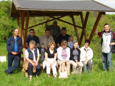 Besuch im Streuobstwiesenzentrum in Tilleda