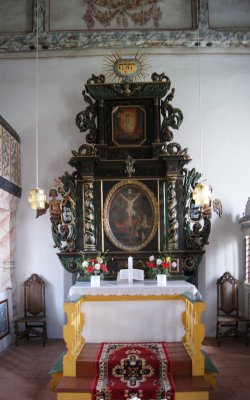 Altar der Dorfkirche Prensdorf