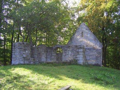 Ruine der Ottilienkapelle