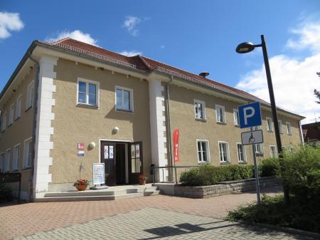 Eingang zum Info-Punkt     Foto: Info Punkt Lebus