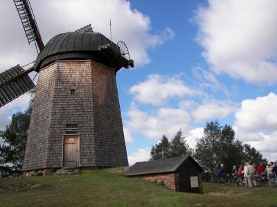 Holländerwindmühle Kolpien im Ortsteil Schöna-Kolpien