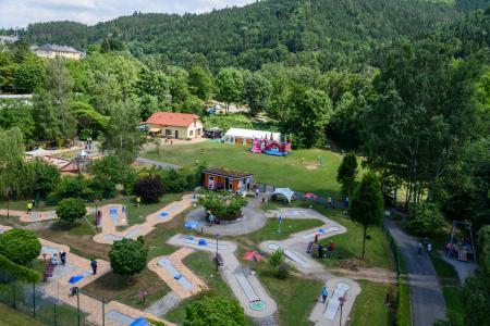 Spiel & Sportplatz mit Minigolf & Imbisscafé ScHoGo