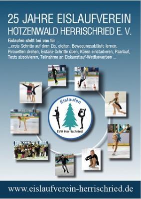 Flyer 25 Jahre Eislaufverein