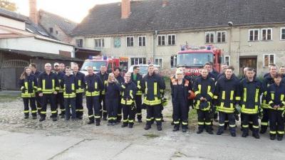Ausbildungstag 2017 der Feuerwehren des Amtsbereichs in Nennhausen