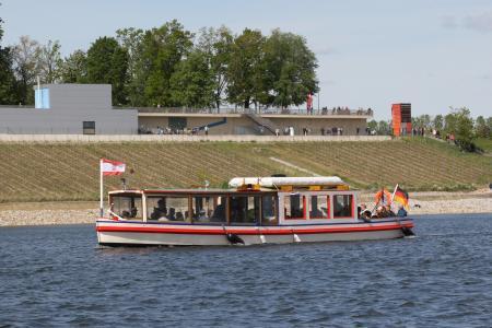 Fahrgastschiff Wilde Ilse auf dem Großräschener See Foto: S. Rasche