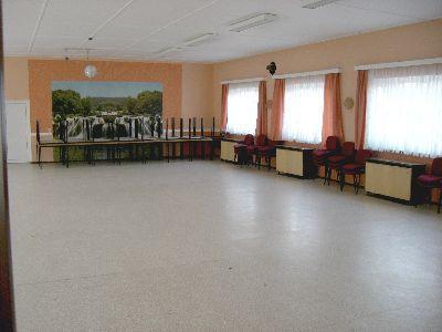 Saal im Gemeindehaus