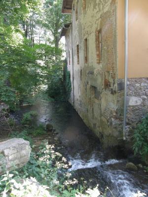 Die Dahme an der Bachmühle