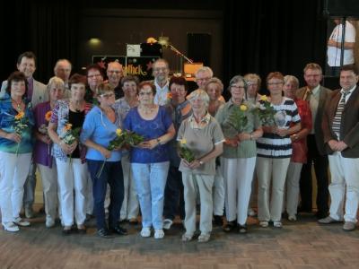 Seniorenbeiräte Uebigau-Wahrenbrück und Falkenberg zur gemeinsamen Veranstaltung zur Brandenburgischen Seniorenwoche am 17.06.15