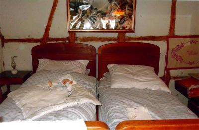 Schlafzimmer im Bauerngehöft der Vergangenheit