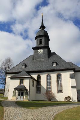 Die Kirche in Hormersdorf