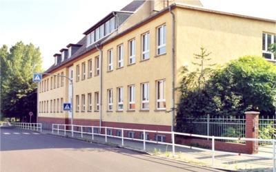 Bismarck-Gymnasium, Eingang Haus 2